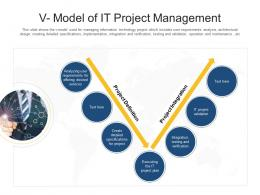 V Model Of IT Project Management