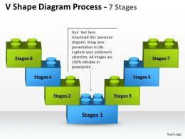 V Shape Diagram Process 7 Stages