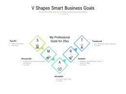 V Shapes Smart Business Goals