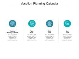 Vacation Planning Calendar Ppt Powerpoint Presentation Inspiration Aids Cpb