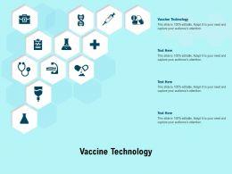 Vaccine Technology Ppt Powerpoint Presentation Slides Backgrounds