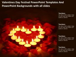 Valentines Day Festival Templates And Powerpoint With All Slides Ppt Powerpoint