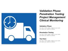 Validation Phase Penetration Testing Project Management Clinical Monitoring Cpb
