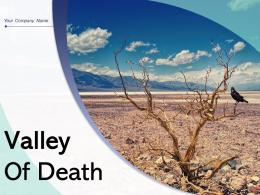 Valley Of Death Inspirational Development Innovation Process Mountains National