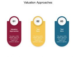 Valuation Approaches Ppt Powerpoint Presentation Styles Slide Download Cpb