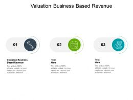 Valuation Business Based Revenue Ppt Powerpoint Presentation Background Image Cpb