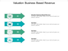 Valuation Business Based Revenue Ppt Powerpoint Presentation Summary Designs Download Cpb