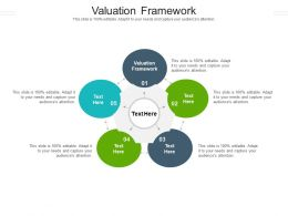 Valuation Framework Ppt Powerpoint Presentation Ideas Objects Cpb