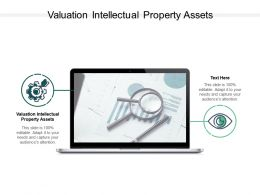 Valuation Intellectual Property Assets Ppt Powerpoint Presentation Designs Cpb