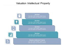 Valuation Intellectual Property Ppt Powerpoint Presentation Visual Aids Backgrounds Cpb