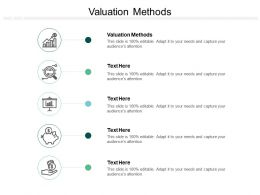 Valuation Methods Ppt Powerpoint Presentation Ideas Show Cpb