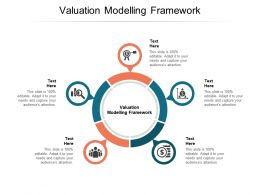 Valuation Modelling Framework Ppt Powerpoint Presentation Icon Format Cpb