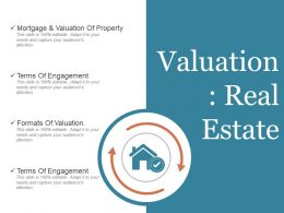 Valuation Real Estate Powerpoint Slide Show