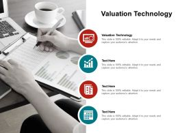 Valuation Technology Ppt Powerpoint Presentation Styles Slide Download Cpb