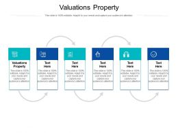 Valuations Property Ppt Powerpoint Presentation File Information Cpb