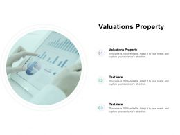 Valuations Property Ppt Powerpoint Presentation File Inspiration Cpb