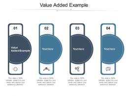 Value Added Example Ppt Powerpoint Presentation File Slides Cpb