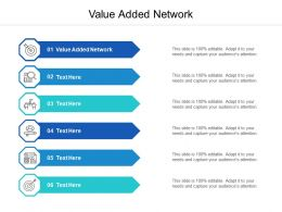 Value Added Network Ppt Powerpoint Presentation Inspiration Gridlines Cpb