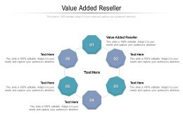 Value Added Reseller Ppt Powerpoint Presentation Summary Cpb