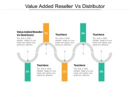 Value Added Reseller Vs Distributor Ppt Powerpoint Presentation Pictures Graphics Design Cpb