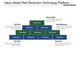 Value Added Risk Reduction Technology Platform Vision Mission