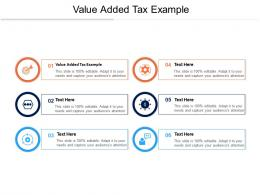 Value Added Tax Example Ppt Powerpoint Presentation Model Outfit Cpb