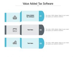 Value Added Tax Software Ppt Powerpoint Presentation Model Good Cpb