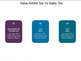 Value Added Tax Vs Sales Tax Ppt Powerpoint Presentation File Inspiration Cpb