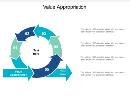 Value Appropriation Ppt Powerpoint Presentation Summary Layout Cpb