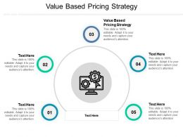 Value Based Pricing Strategy Ppt Powerpoint Presentation Infographics Ideas Cpb