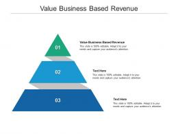Value Business Based Revenue Ppt Powerpoint Presentation Gallery Clipart Cpb