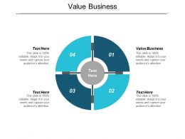 Value Business Ppt Powerpoint Presentation Show Structure Cpb