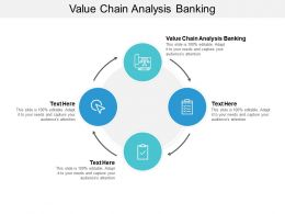 Value Chain Analysis Banking Ppt Powerpoint Presentation Pictures Guide Cpb