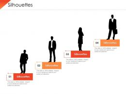 Value Chain Analysis Competitive Advantage Silhouettes Ppt Powerpoint Visual Aids