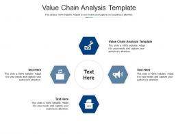 Value Chain Analysis Template Ppt Powerpoint Presentation Portfolio Design Ideas Cpb