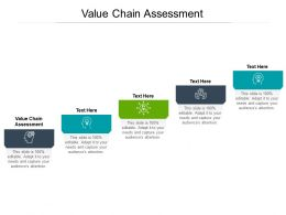 Value Chain Assessment Ppt Powerpoint Presentation Infographic Template Rules Cpb