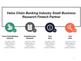 Value Chain Banking Industry Small Business Research Fintech Partner Cpb