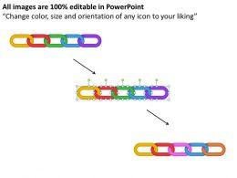 Value Chain Diagram Powerpoint templates ppt presentation slides 0812