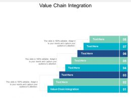 Value Chain Integration Ppt Powerpoint Presentation Summary Format Cpb
