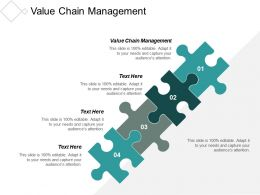 Value Chain Management Ppt Powerpoint Presentation Slides Visuals Cpb