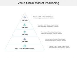 Value Chain Market Positioning Ppt Powerpoint Presentation Infographics Graphics Cpb
