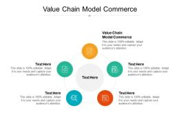 Value Chain Model Commerce Ppt Powerpoint Presentation Show Information Cpb