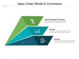 Value Chain Model E Commerce Ppt Powerpoint Presentation Styles Show Cpb