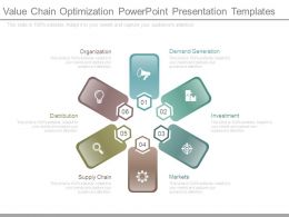 Value Chain Optimization Powerpoint Presentation Templates