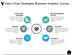 Value Chain Strategies Business Analytics Course Operational Risk Cpb