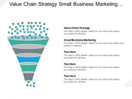 Value Chain Strategy Small Business Marketing Business Administration Cpb