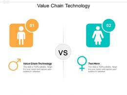 Value Chain Technology Ppt Powerpoint Presentation Layouts Introduction Cpb