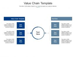 Value Chain Template Ppt Powerpoint Presentation Outline Master Slide Cpb
