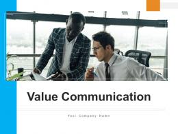 Value Communication Target Customers Business Problem Stakeholders Process