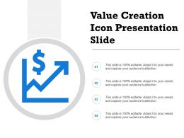 Value Creation Icon Presentation Slide